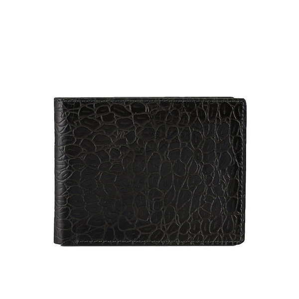 slim alligator wallet