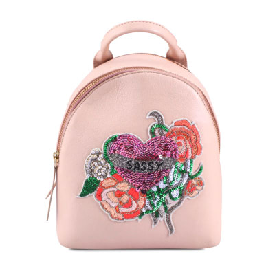 """rich result in google SERP while searching """"ladies backpack"""". Women's mini backpack"""