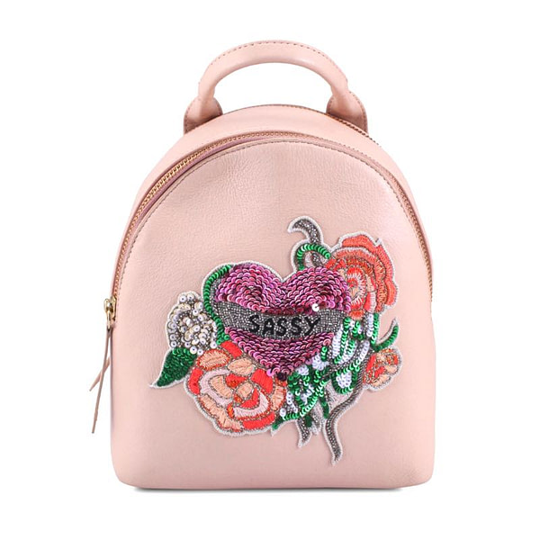 "rich result in google SERP while searching ""ladies backpack"". Women's mini backpack"